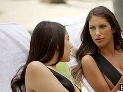 BLACKED August Ames and Valentina Nappi Share bbc