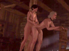 The witcher hermaphroditism 3d