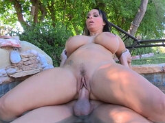 Milf pushed under while plowed from behind