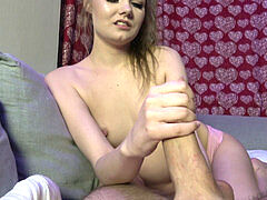 wrecked ejaculation hand job - Miss Banana
