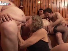 FUN MOVIES Sperm On Granny - hot group porn video