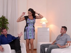 Threesome Therapy - Busty Goddess Fucked by Doctor and Husband