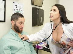 Angela White Is A Hot Doctor That Cures Her Patient's Erectile Dysfunction