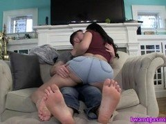 Latina Foot Cuckold