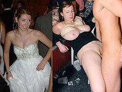 bride wedding sundress before during after compilation wifey point of view
