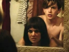 Frankie Shaw jugs and plus bum in a sex area
