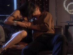 Sex addicted asian Kaylani Lei craves american cock