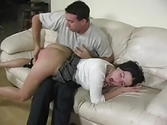 Spanked and also fingered
