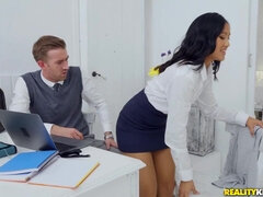 Danny D gives glam May Thai a practical sex lesson