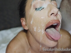 TexasBukkake - E35 Tiffany Brookes Gang-Fuck And Mass Ejaculation