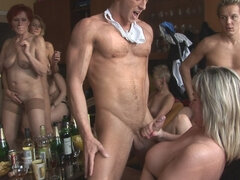Young Czech Gerontophiles And Horny Grannies At Sex Party