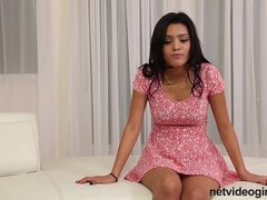 Steamy Latina Gets Screwed on Audition