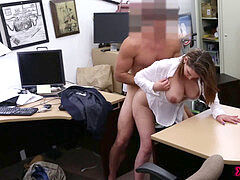 Foxy biz woman Gets penetrated!