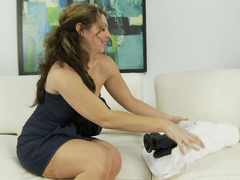 Kiki Daire and moreover her large toys have hot single sex