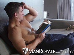 ManRoyale Morning laundry ravage with masturbate Hunter