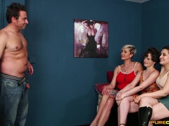 Katie Olsen, Lili Miss Arab & Tanya Virago crave for sperm