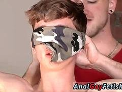 Diaper guys bondage homosexual Twink boy Jacob Daniels is his just added meal tied up and also facialed