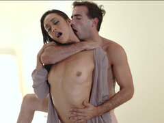 Luscious latina Gia Vendetti riding eager dick until he is ready to burst