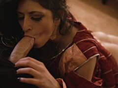 Sexy Arab babe is creampied after she got slammed