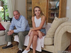 BLUE PILL FOLKS - older Folks Porking Nubile Women Compilation Film!