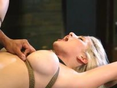 Pinioned up bondage and furthermore extreme dong Bigbreasted blonde hottie Cristi Ann is on vacation