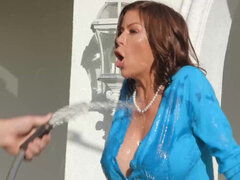 Sexually frustrated MILF Alexis Fawx takes every inch in her pussy