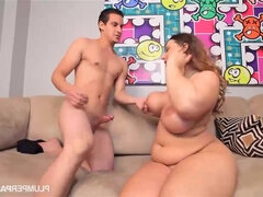 Young PAWG plumper Lexxxi Lockhart gagging on big dick - hardcore with cumshot