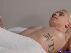 Massage Rooms (SexyHub): Lesbians pleasure their hot bodies