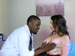 Black doctor gets access to pussies of patient and nurse