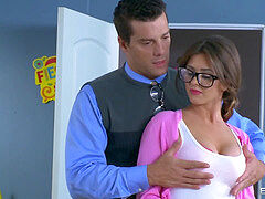 Alice Lighthouse inhales some tutor hard-on - Brazzers