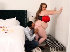 Adult bbw Legend Sapphire Fucks for Valentines Day