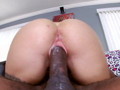 Immense black pecker for this blonde slut named Cameron Canada