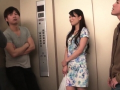 Nana Nakamura acts lustful and sensual in top trio