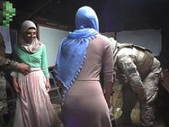 Hot Arab girls in hijab suck and ride cocks