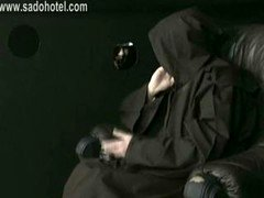 Lustful nun confesses to priest & got spanked on her h&s with a wooden stick