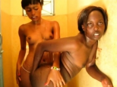 Sex-starved lesbians from Africa are having intense sex in