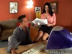 Olivia Olovely At The Office