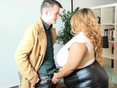 Bigtitted British Real bbw Superstar Shanice Richards Rides