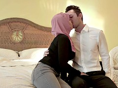 busty hijabi stepdaughter ella knox seduces stepdad