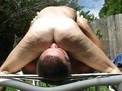 outdoors felatio