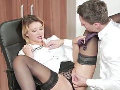 Kittens - Office Obsession - Lutro and also Anna Polina - My Horrib
