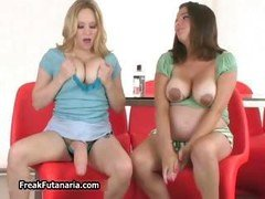 A duo girls with melons making love unit6