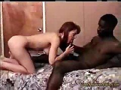 Interracial internal cumshot act from monstrous African male with amazingly huge cock