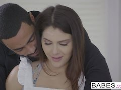 Babes - Black is Better - There For You starring Valentina Nappi and Stallion clip