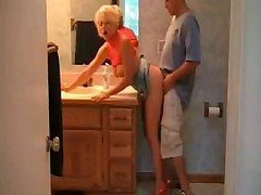 Hot Busty Blonde Soccer mom Sex In Heels