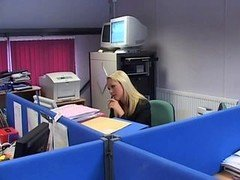 British Hoe Jane Berry gets fucked in the office