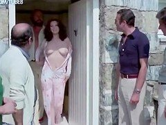 Edwige Fenech and furthermore Lia Tanzi naked from The Virgo The Taurus
