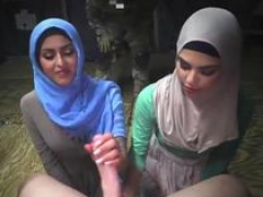 Hot sexy dance arab and besides girl-guy serviced hardcore Sneaking in the Base