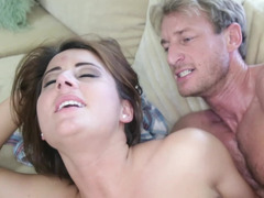Attractive Rachel Raven needs a hard penis buried in her pussy