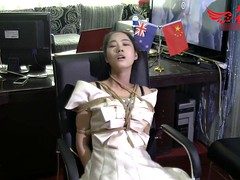 chinese girl tied up
